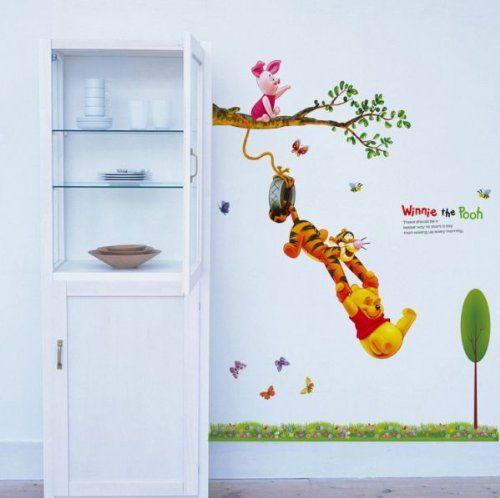 Werbung | Winnie Pooh Wandtattoo für das Kinderzimmer ...