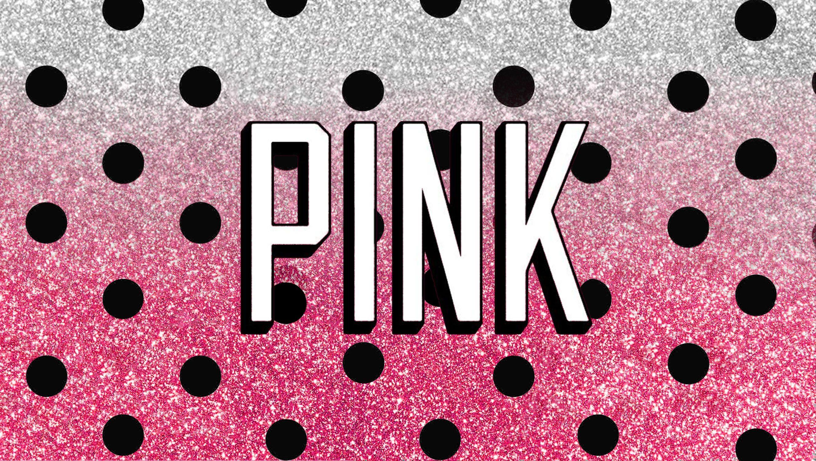 Victoria Secret Love Pink Background Pink Galaxy