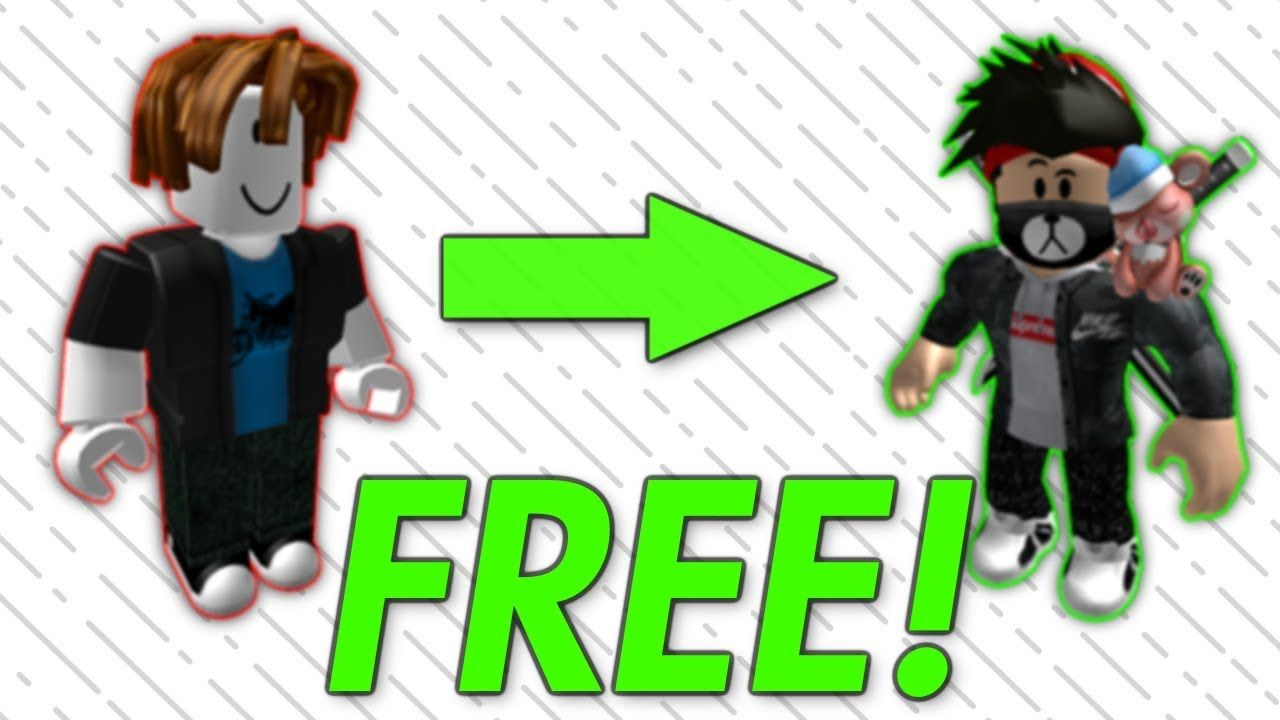 How To Make Your Roblox Avatar Cool For Free Roblox Avatar