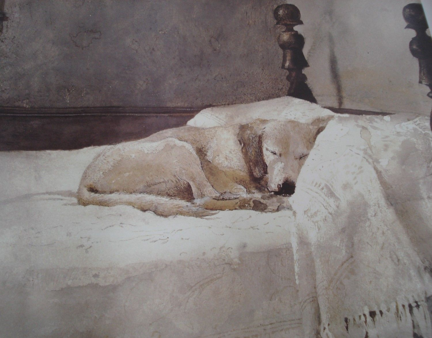 This is a fine art poster of Andrew Wyeth s Master Bedroom watercolor  painting  Description from. This is a fine art poster of Andrew Wyeth s Master Bedroom