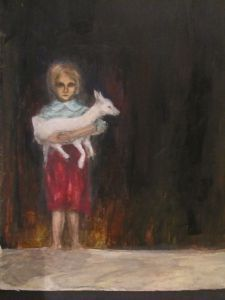 Hugo Simbergin Lammastyttö
