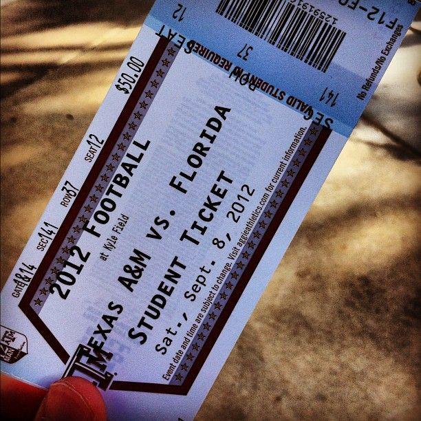 "Maroon Weekly's photo ""Fightin' Texas Aggie Ticket Pull"