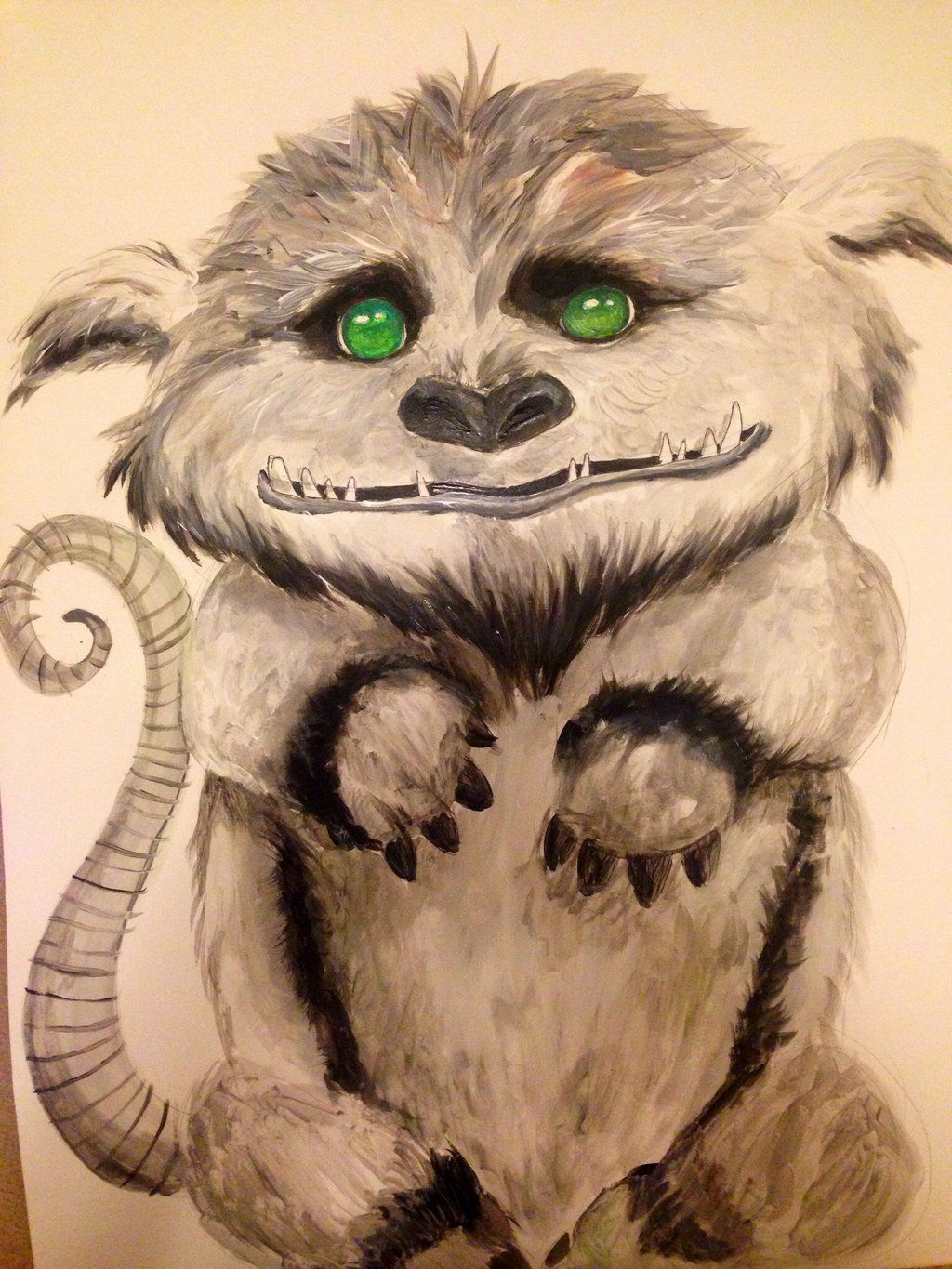 Gruff By Ladyshawn Tinkerbell The NeverBeast Neverbeast