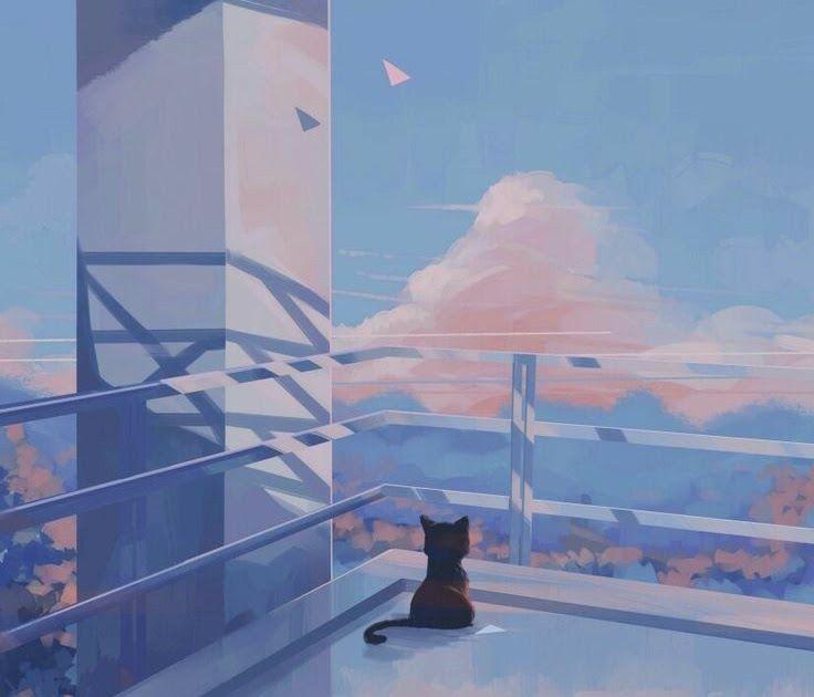 Get Inspired For Aesthetic Anime Landscape Phone Wallpaper ...