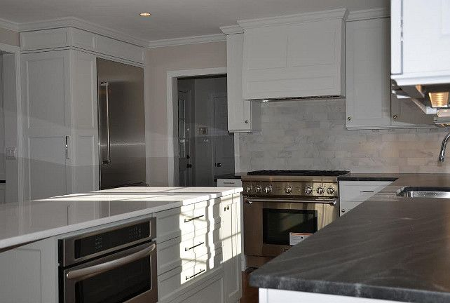 "Interior Design Ideas - ""Gray Kitchen Island Paint Color ..."