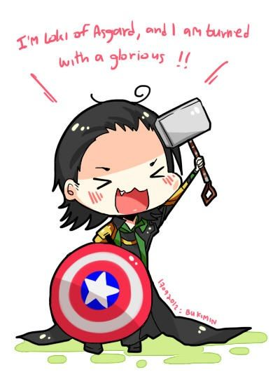 Loki Chibi Chibis Pinterest Loki And Avengers