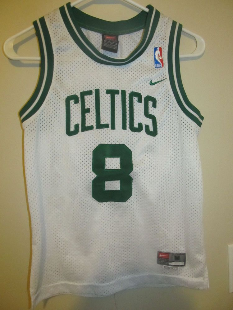 Vintage Antoine Walker Boston Celtics Jersey Nike Youth Medium Nike Bostonceltics Antoine Walker Boston Celtics Jersey