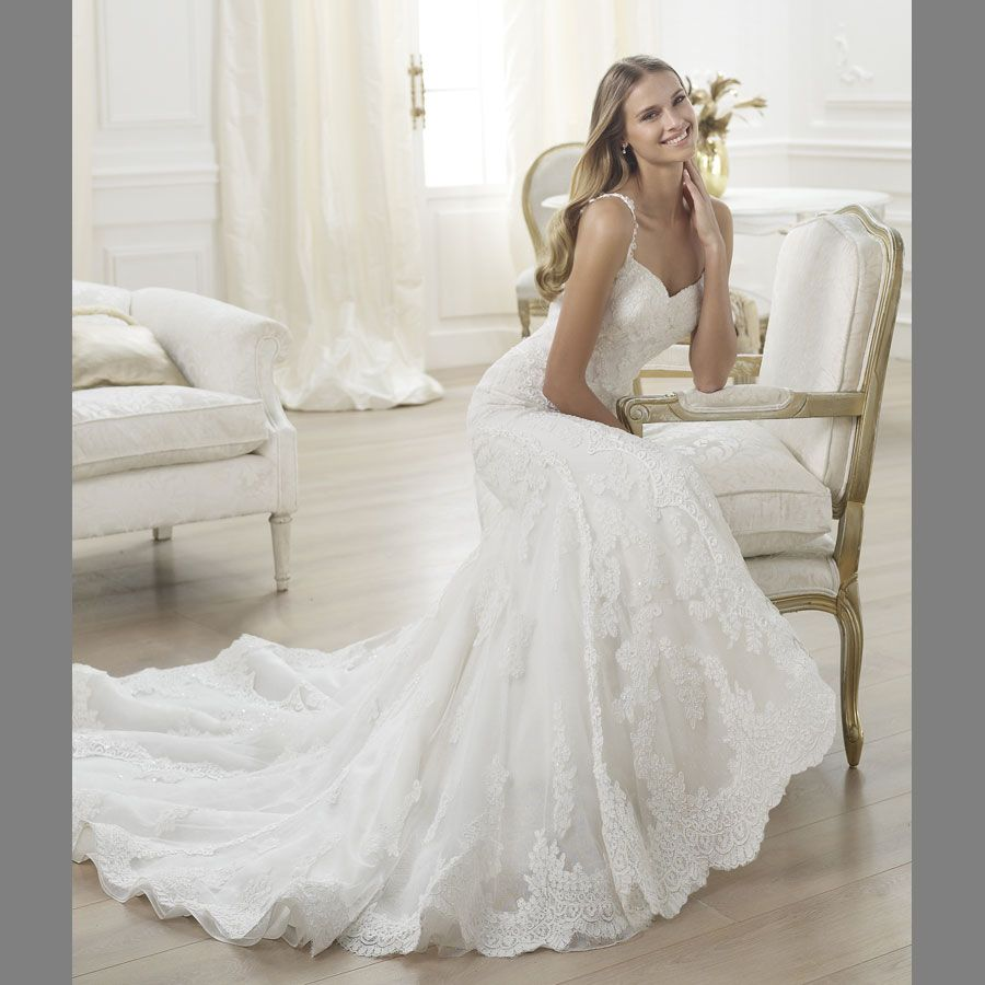 Fancy Pronovias Barcelona showcases an extensive collection of gowns and is one of Europe us most sought after bridal collections Featured at Dimitra us Bridal