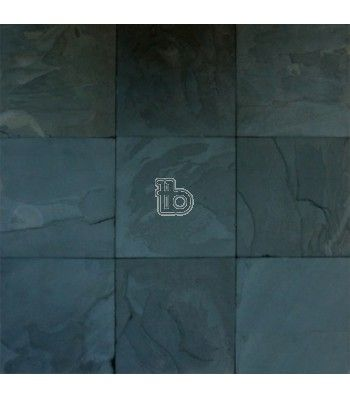 Premium Black Slate Classic 12x12 Gauged Slate Tile Floor Black Slate Tiles Slate Flooring