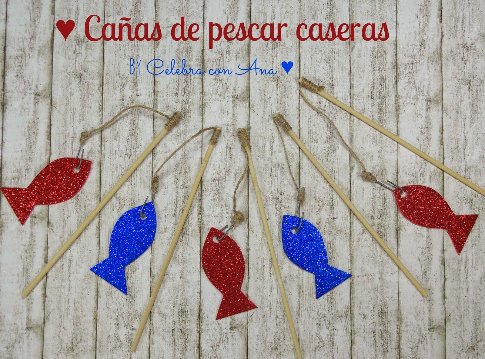 Celebra Con Ana Hacer Cañas De Pescar Decorativas Cañas De Pescar Manualidades Cristianas Manualidades