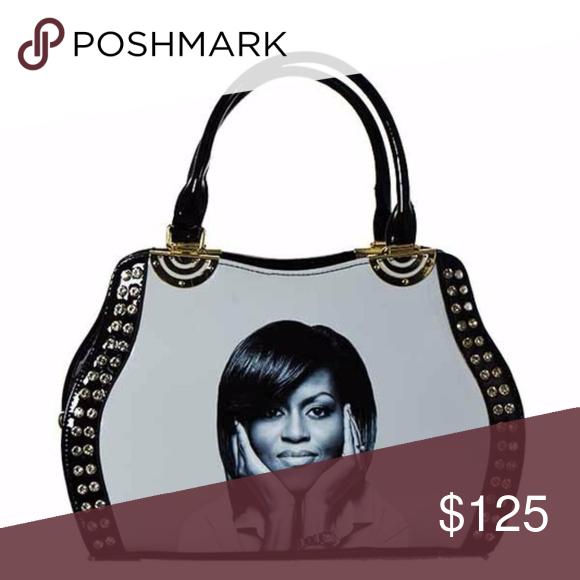 b92b6704dd Spotted while shopping on Poshmark: Michelle Obama Fashion Magazine Handbag!  #poshmark #fashion #shopping #style #Isabella Chantel #Handbags