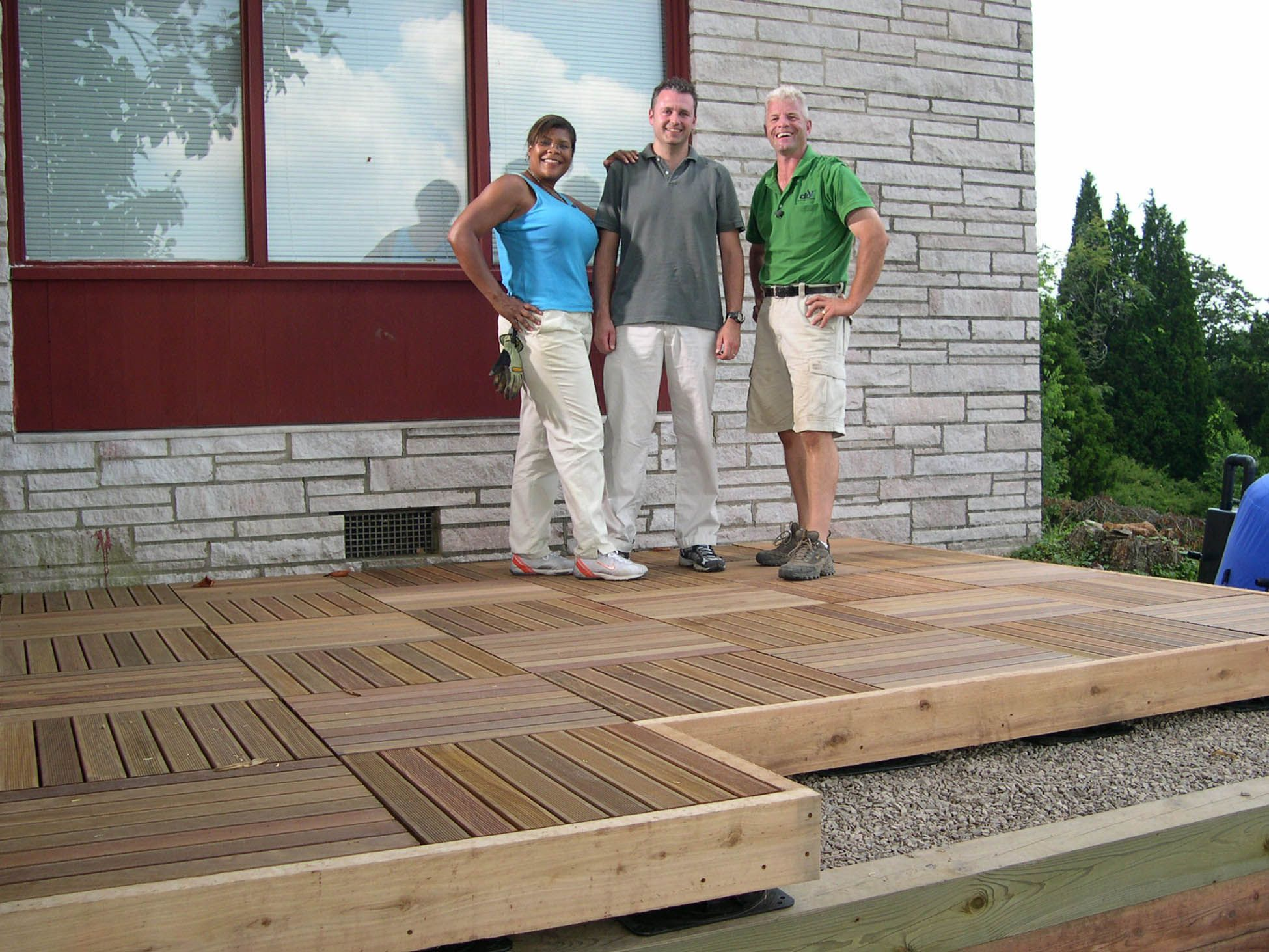 Diy Network Patio Deck Supports