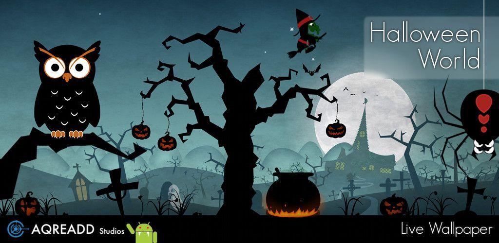 get halloween live wallpaper world on google play httpsplaygoogle