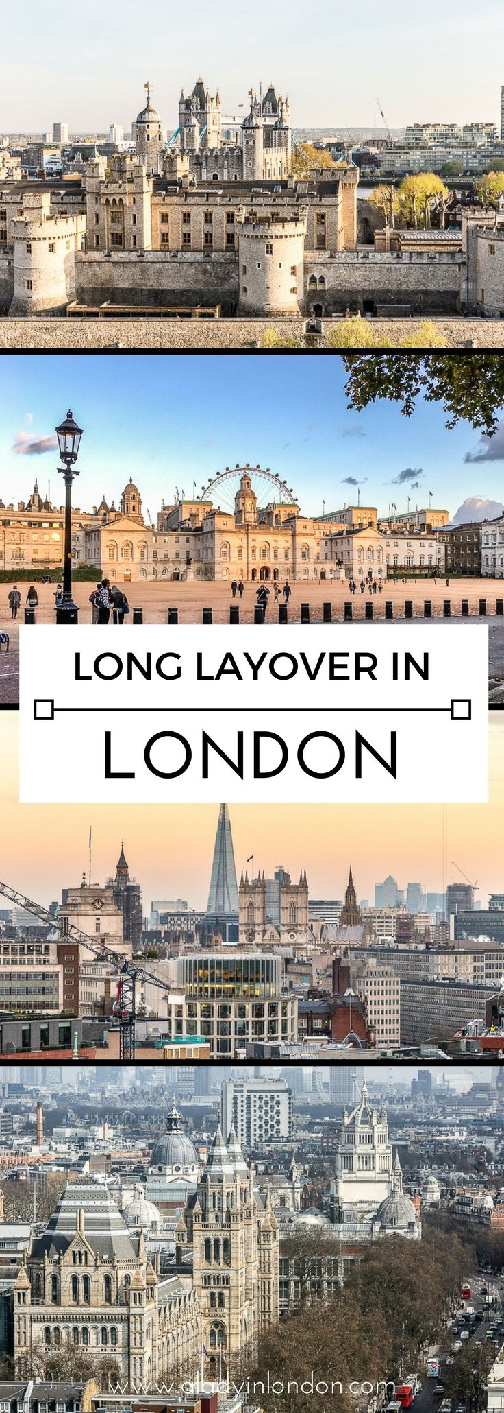 A guide to spending a long layover in London on your travels. #london #travel #layover