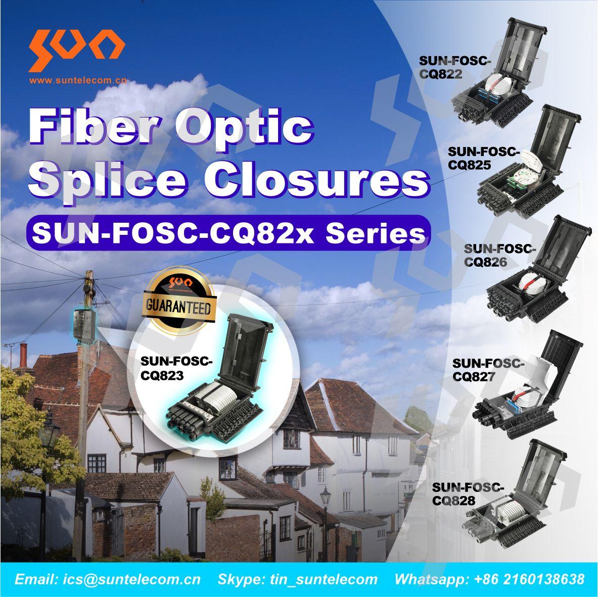 Fiber Optic Splice Closures   Fiber