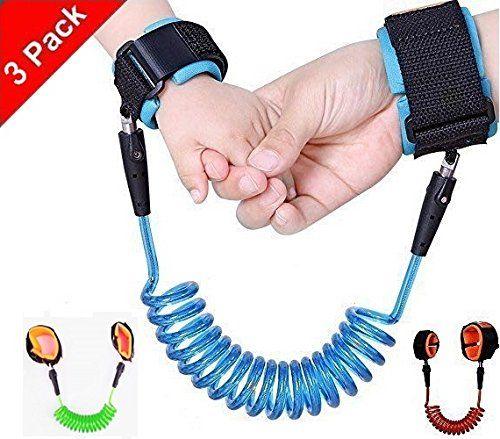 Wrist Link Kid/'s Children/'s Toddler Adjustable Walking Rein Harness Safety Strap