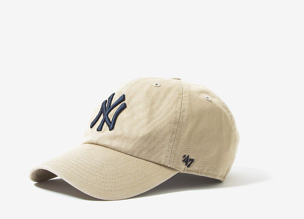 47 Brand New York Yankees Dad Cap - Khaki  761094552a4