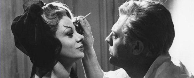Sandra Milo e Marcello Mastroianni in 8½, Federico Fellini (1963 ...