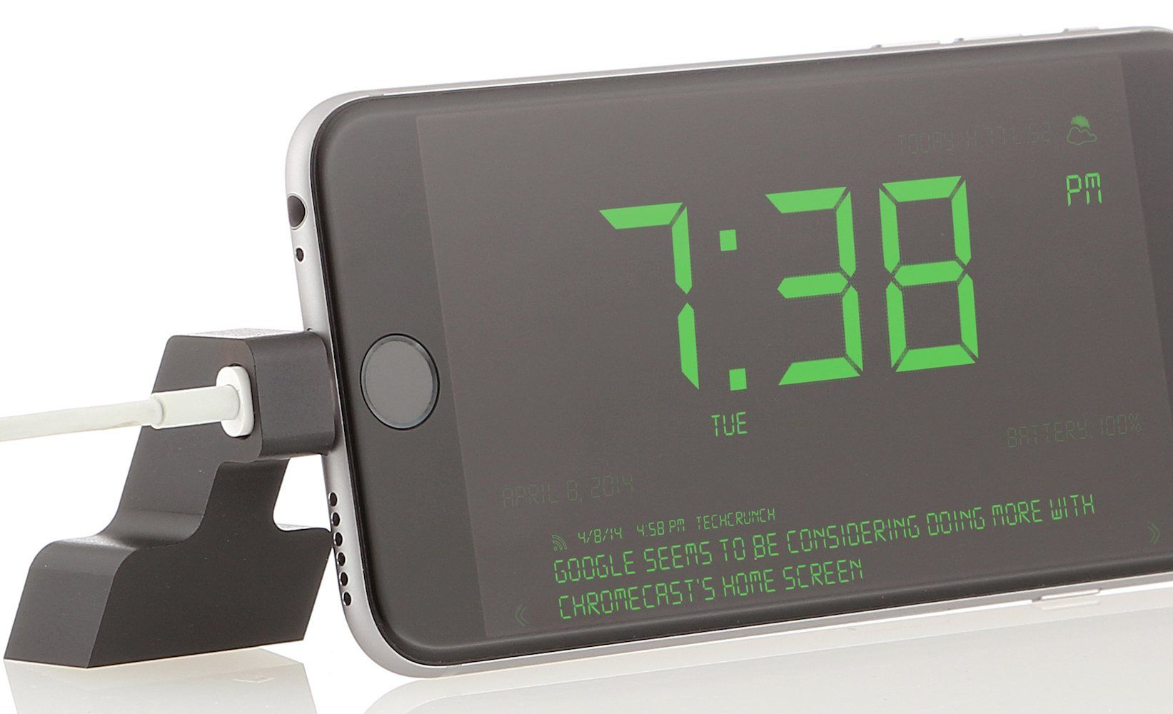 on sale ae2e4 518e8 Tried to use your iPhone 6 as an alarm clock on your night stand? Or ...