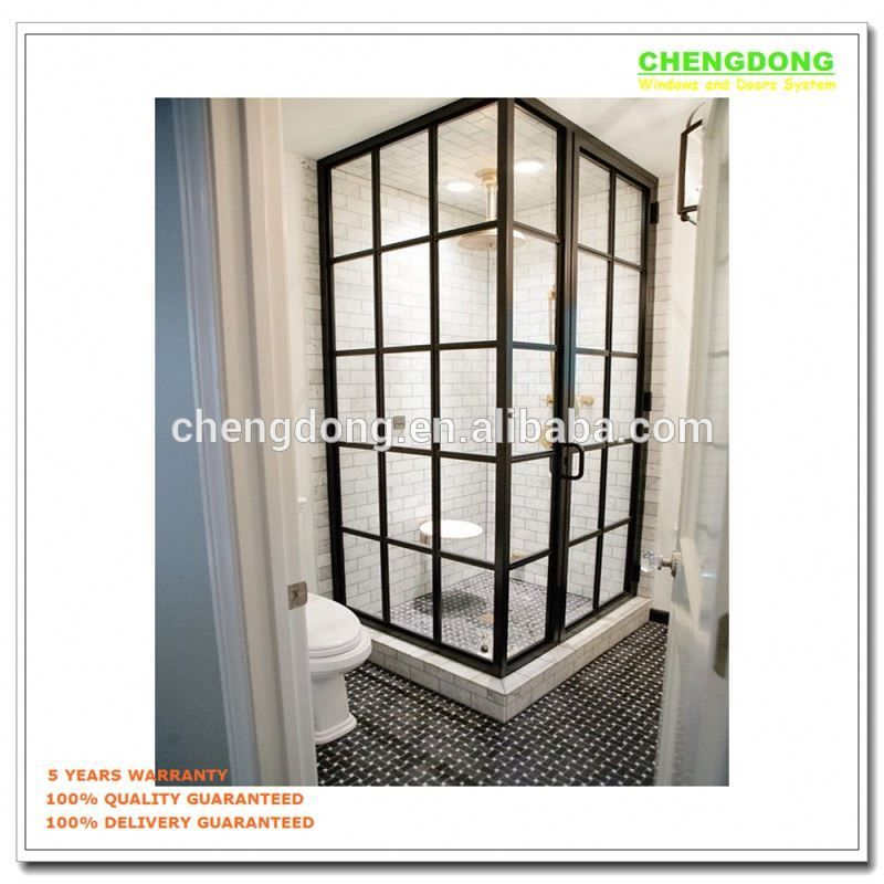 Hot Sale Luxury Shower Cabin,Glass Bathroom Shower Door Gold,Custom ...