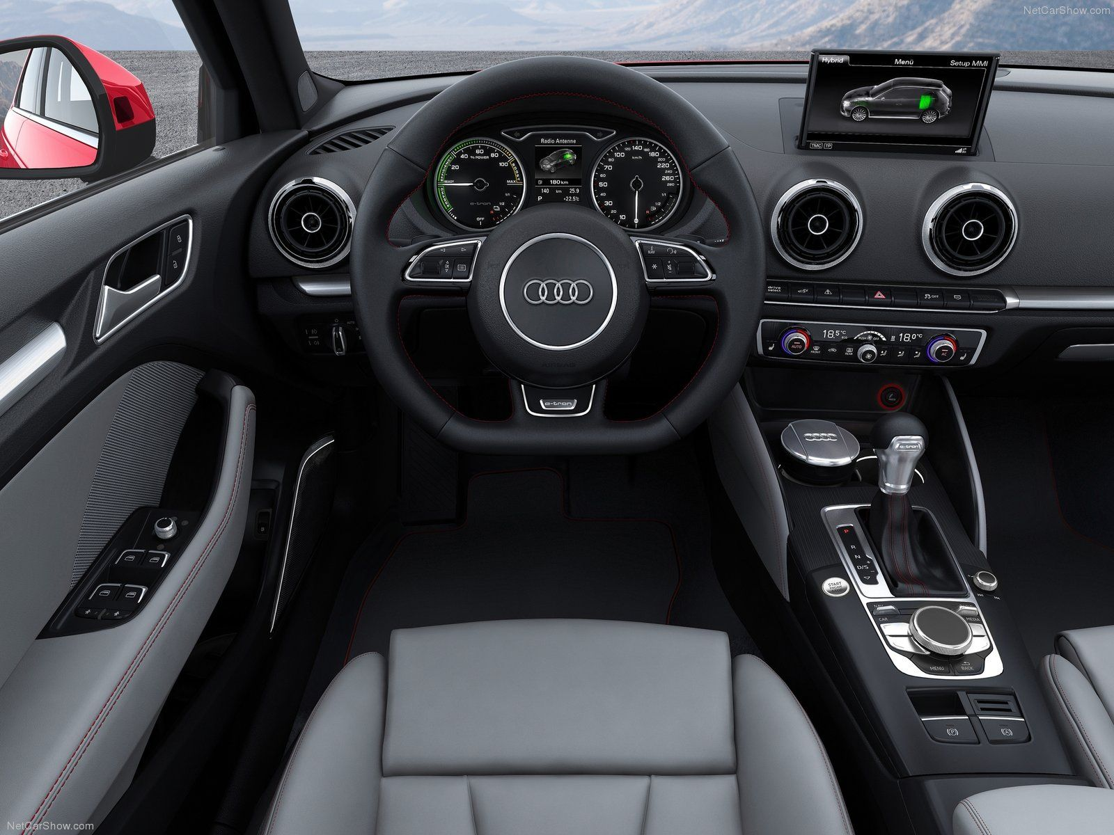 Automotive Interiors Design Dashboards Details Audi A3 Sedan Audi A3 Audi