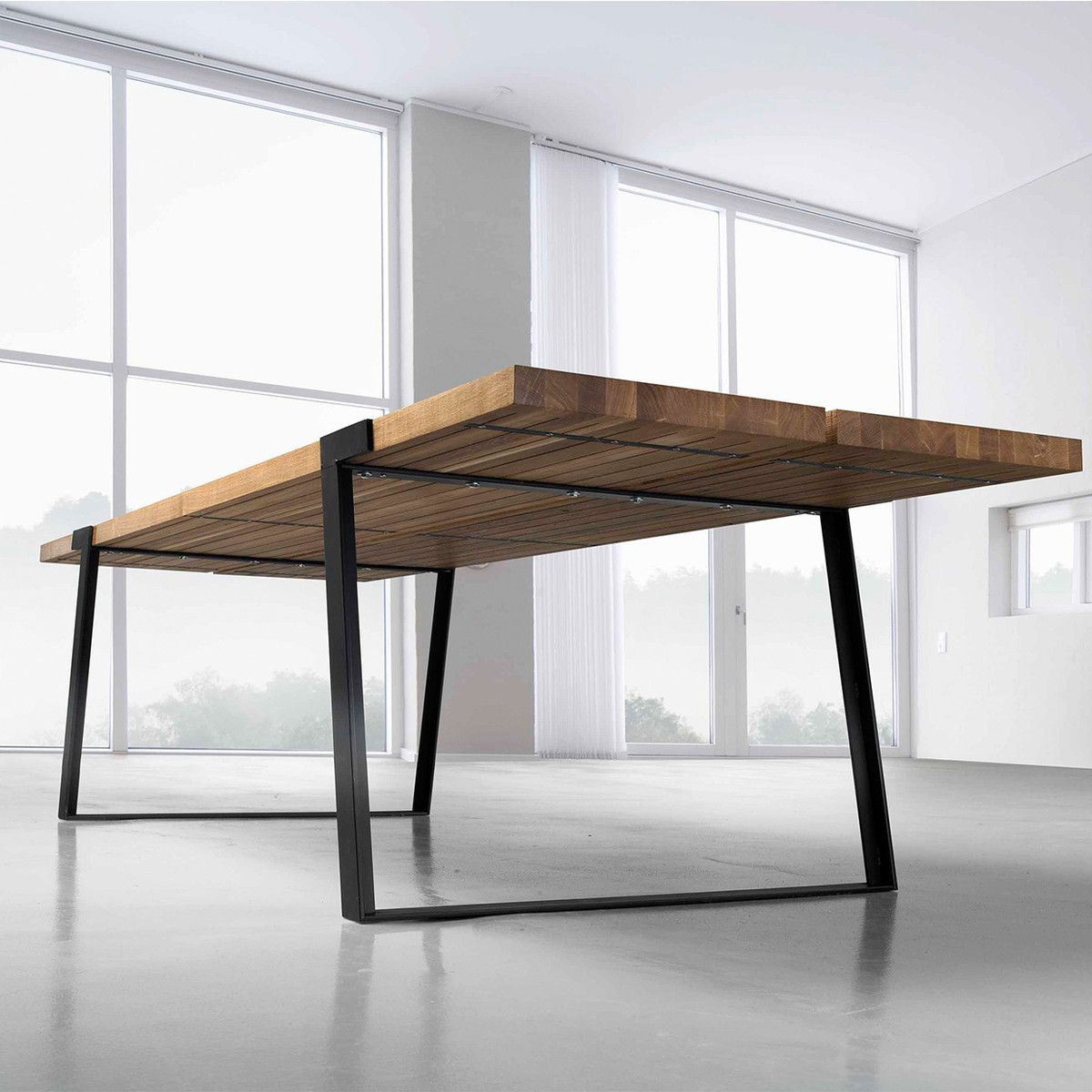 Design Your Own Made To Measure Solid Wood Furniture With Fab Dining Table Furniture Furniture Design