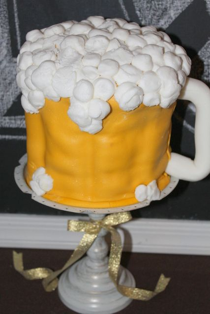 Beer Birthday Party Ideas Beer cakes Cake and Check
