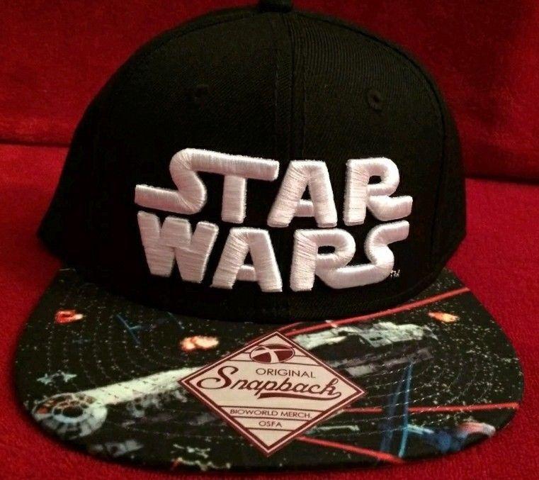 Star Wars Baseball Hat Cap Millennium Falcon ~ NWT ~ Original Snapback ~  Disney  Bioworld  BaseballCap f3fbebc9ea
