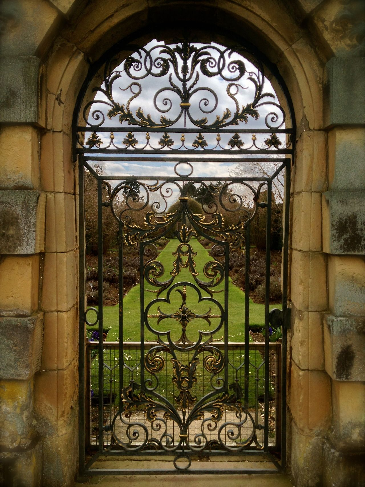 Castle Howard,York - a view into the gardens*