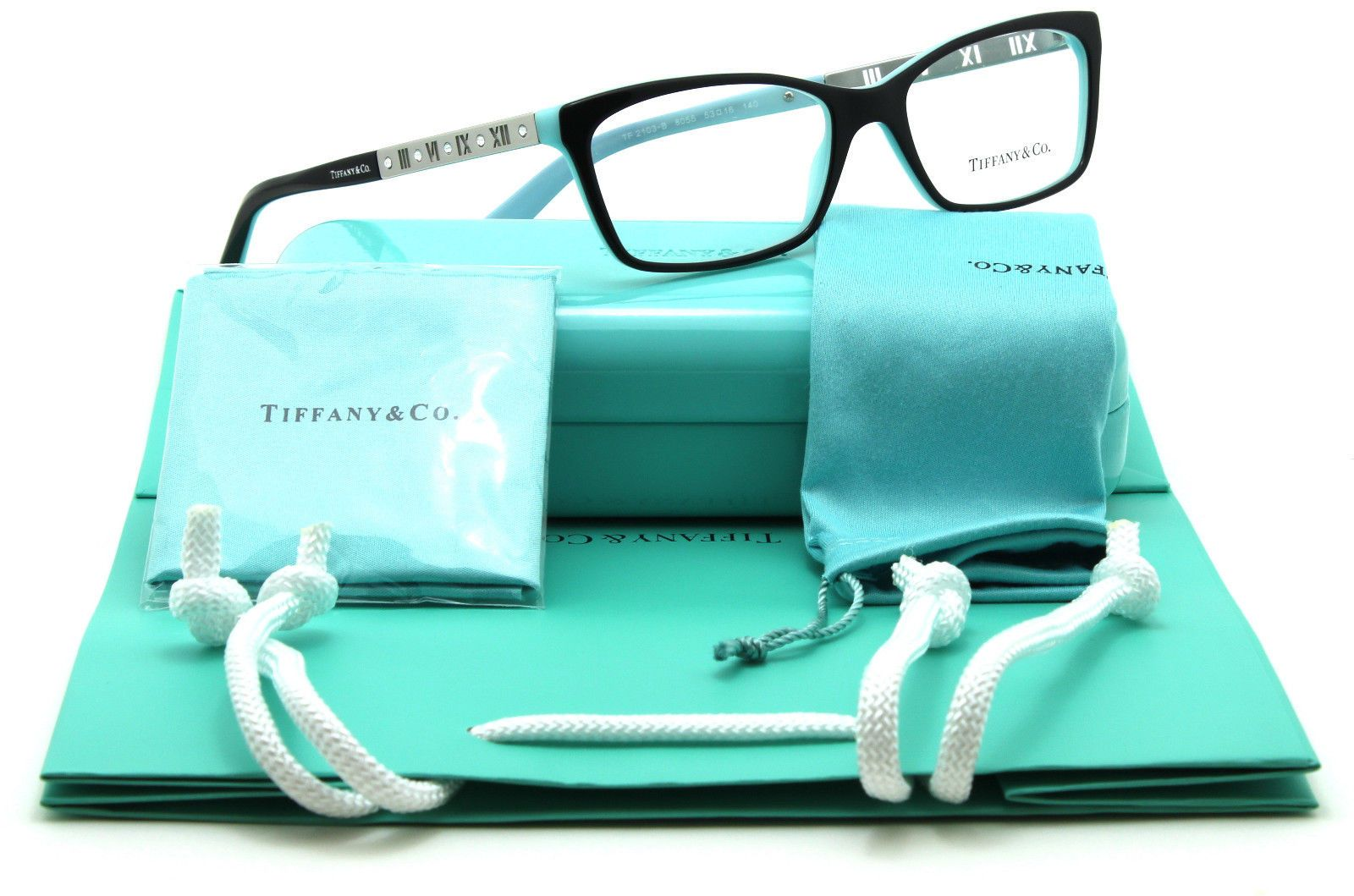 Eyeglass Frames: New Authentic Tiffany And Co. Tf 2103B Womens ...