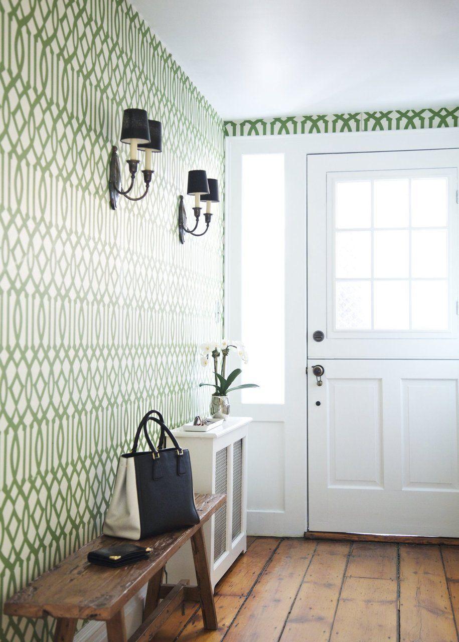pingl par les peintures de armond sur papiers peints pinterest maison hall d 39 entr e et hall. Black Bedroom Furniture Sets. Home Design Ideas