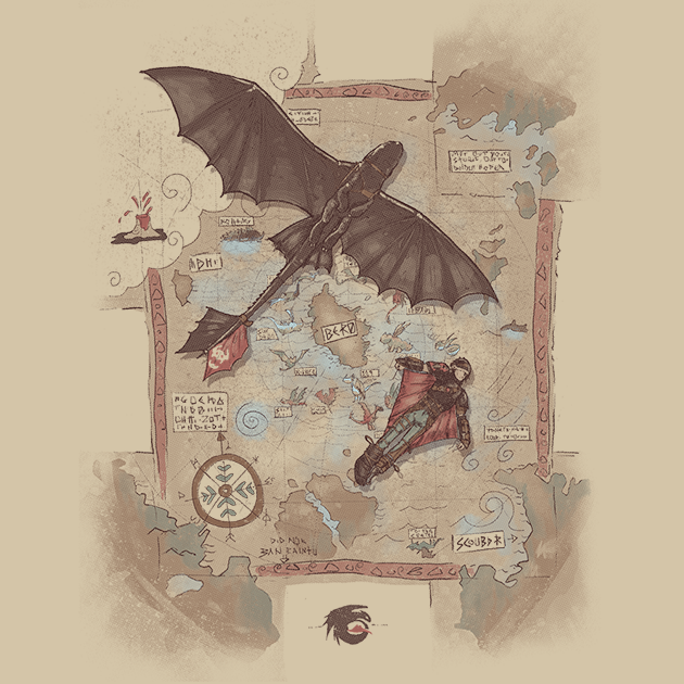 Where no one goes by sergiomancinelliriu how to train your awesome how to train your dragon t shirt design by sergio mancinelli ccuart Images