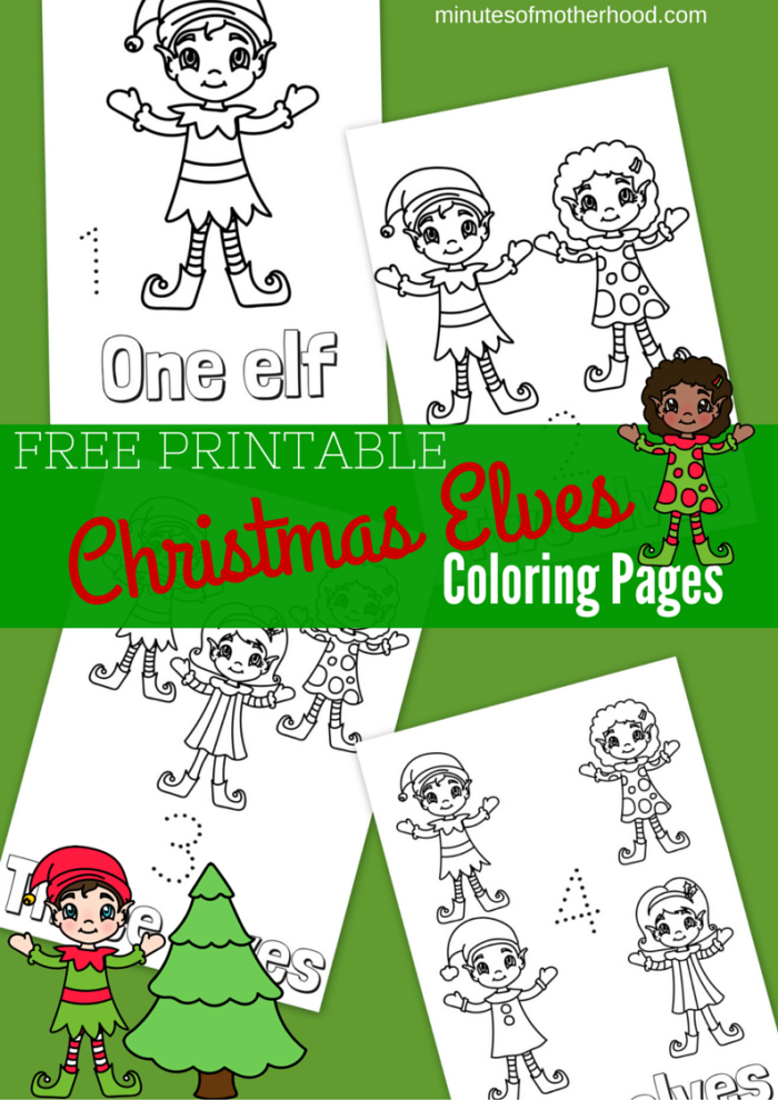 Free Printable Christmas Elves Coloring Pages Free Coloring Pages