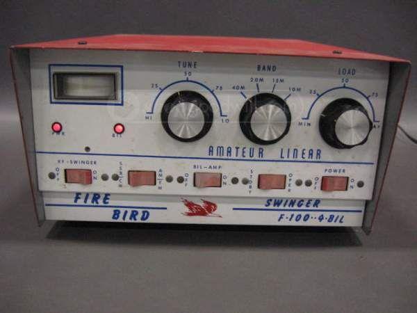 Firebird Swinger F-100 4-Bil Amateur Linear Amp  Vintage -2738