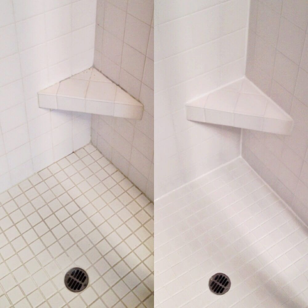 how to regrout a shower base