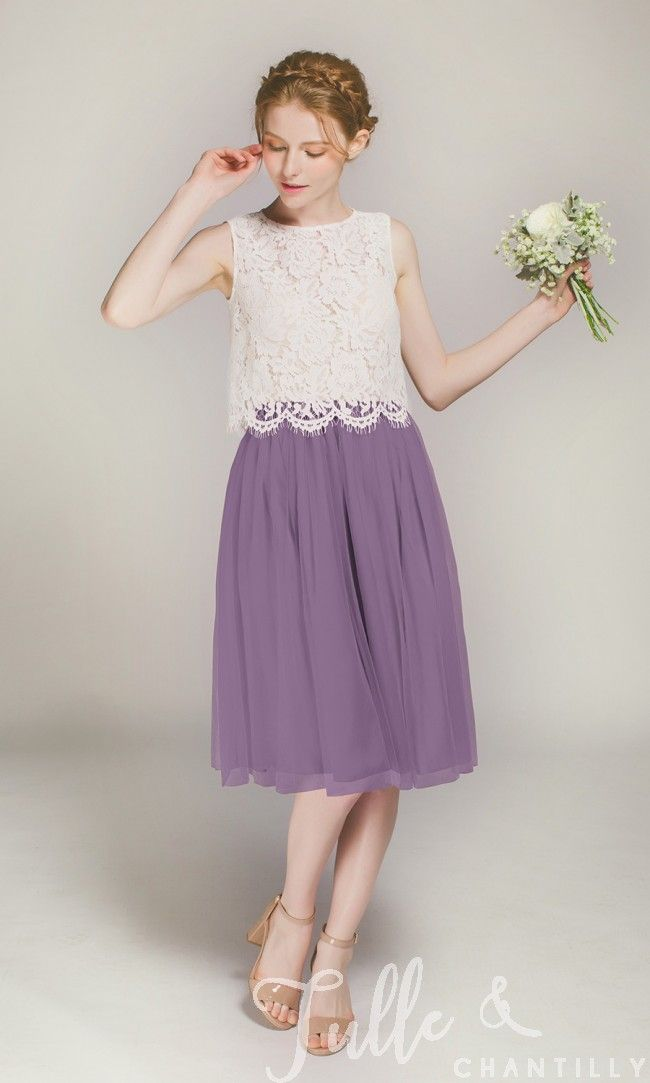 Tulle Short Skirt for Bridesmaids TBQP373 | Short skirts, Shorts and ...