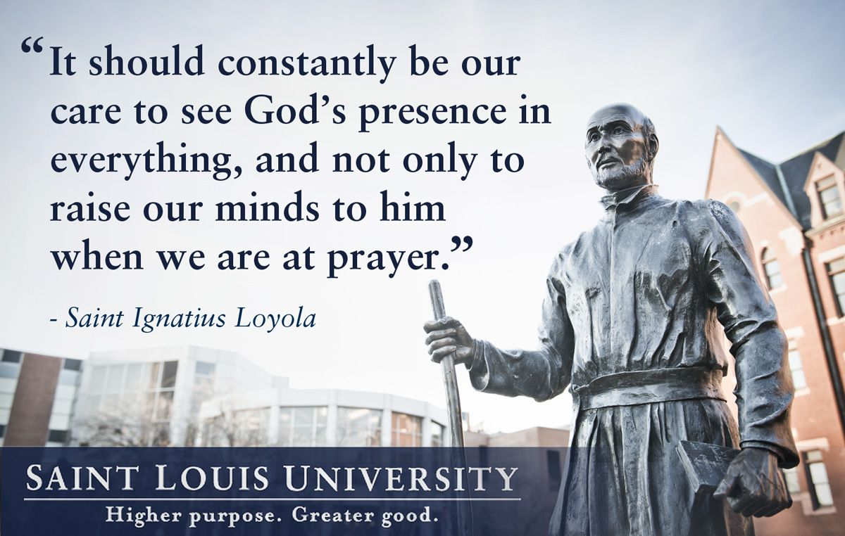 St Ignatius Quotes Finding God In The Dark Taking The Spiritual Exercises Of St
