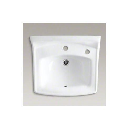 Greenwich Ceramic 21 Quot Wall Mount Bathroom Sink With