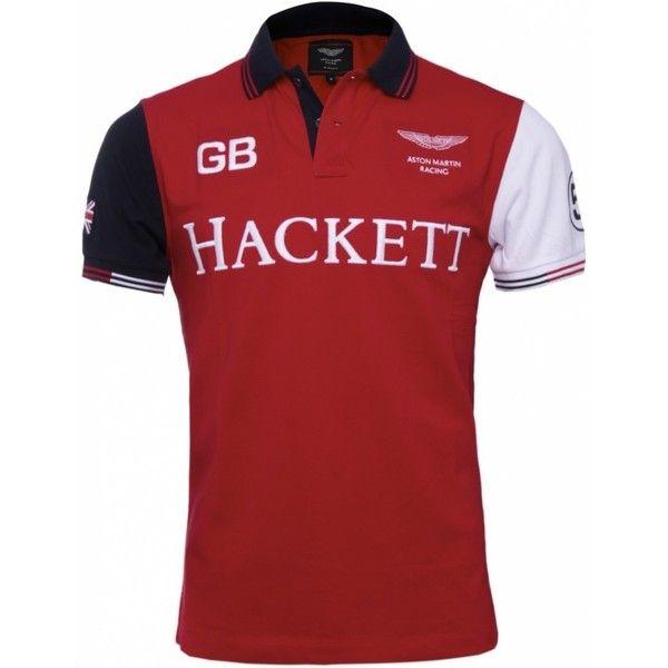 Hackett Aston Martin Racing Polo Shirt (£95) found on Polyvore