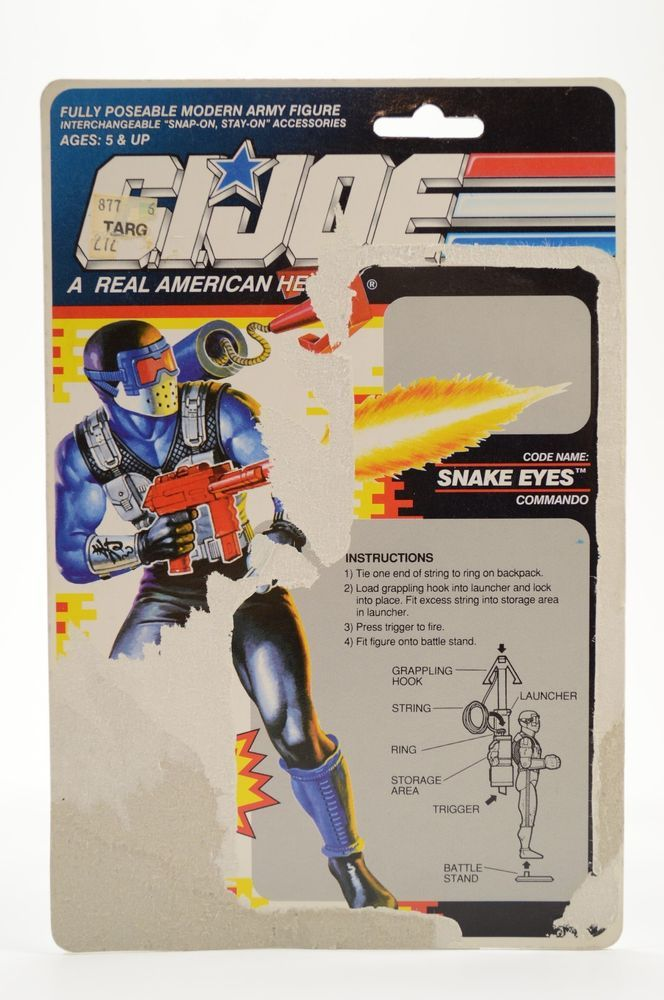 VTG Cobra GI Joe 1991 Snake Eyes