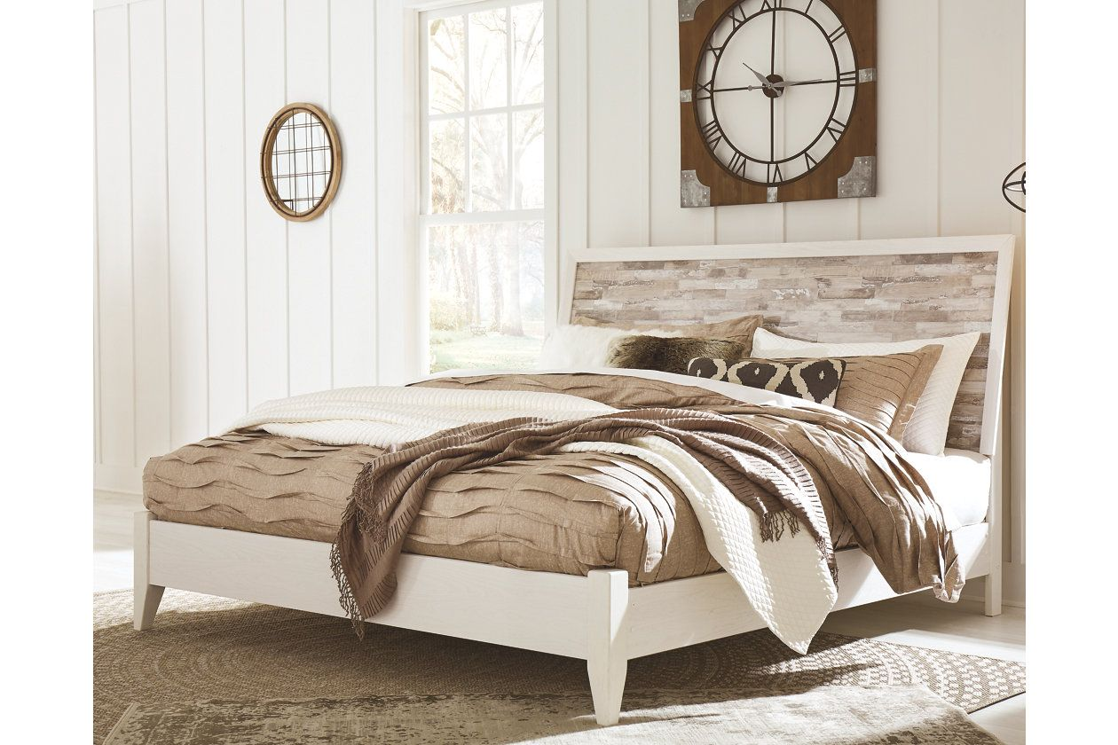 Beds Bed Frames Ashley Furniture Homestore Bedroom Panel Bed