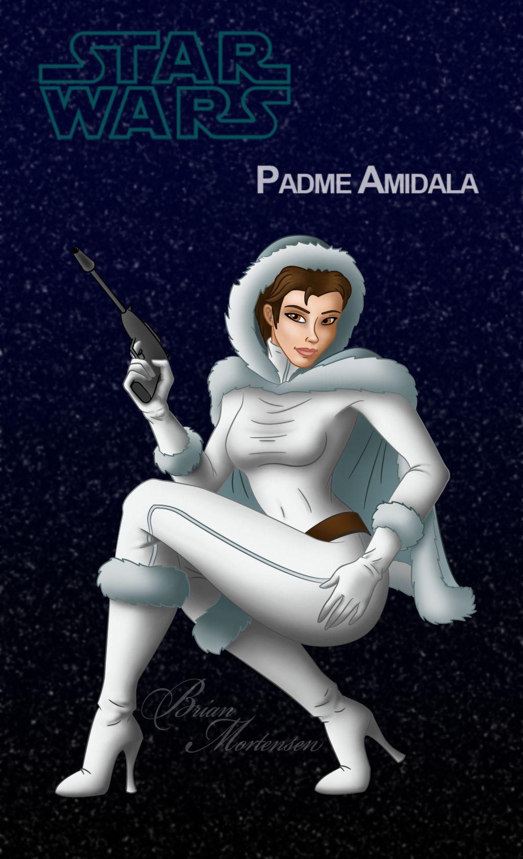 Padme Amidala by breyean