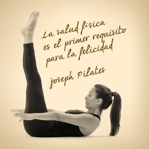 Amor ao Pilates! | Pilates / Yoga | Pinterest | Frases motivadoras ...