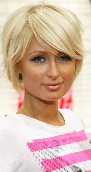Short Hairstyles For Fat Faces | From Barbie-girl lengths to a sharp, fashionable bob – at last Paris ...