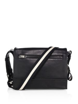 BALLY Tamrac Calf Leather Messenger Bag.  bally  bags  shoulder bags   leather  crossbody   b8616c75f27b3