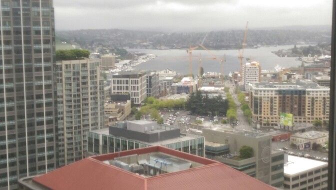View of S. Lake Union