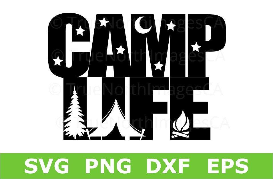 Camping SVG / Camper SVG / Happy Camper SVG / Camping