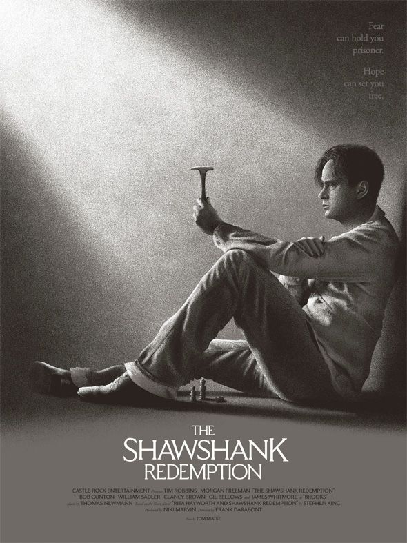 Shawshank The Shining More Honored In Stephen King Art Show The Shawshank Redemption Alternative Movie Posters Movie Poster Art