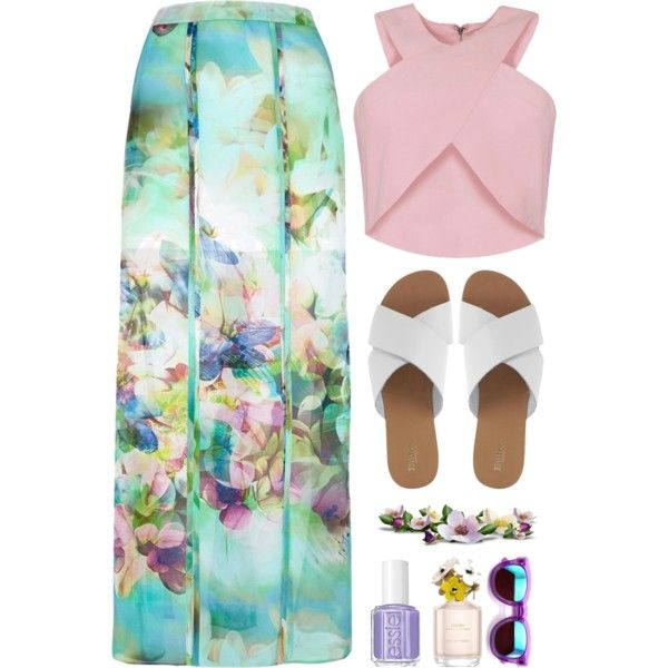 """""""Flowers"""" by elske88 on Polyvore"""
