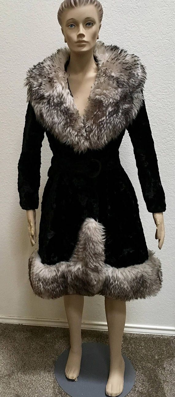 6e530decb438f Pin by Amanda on 1970s | Fur Coat, Faux fur, Faux fur collar